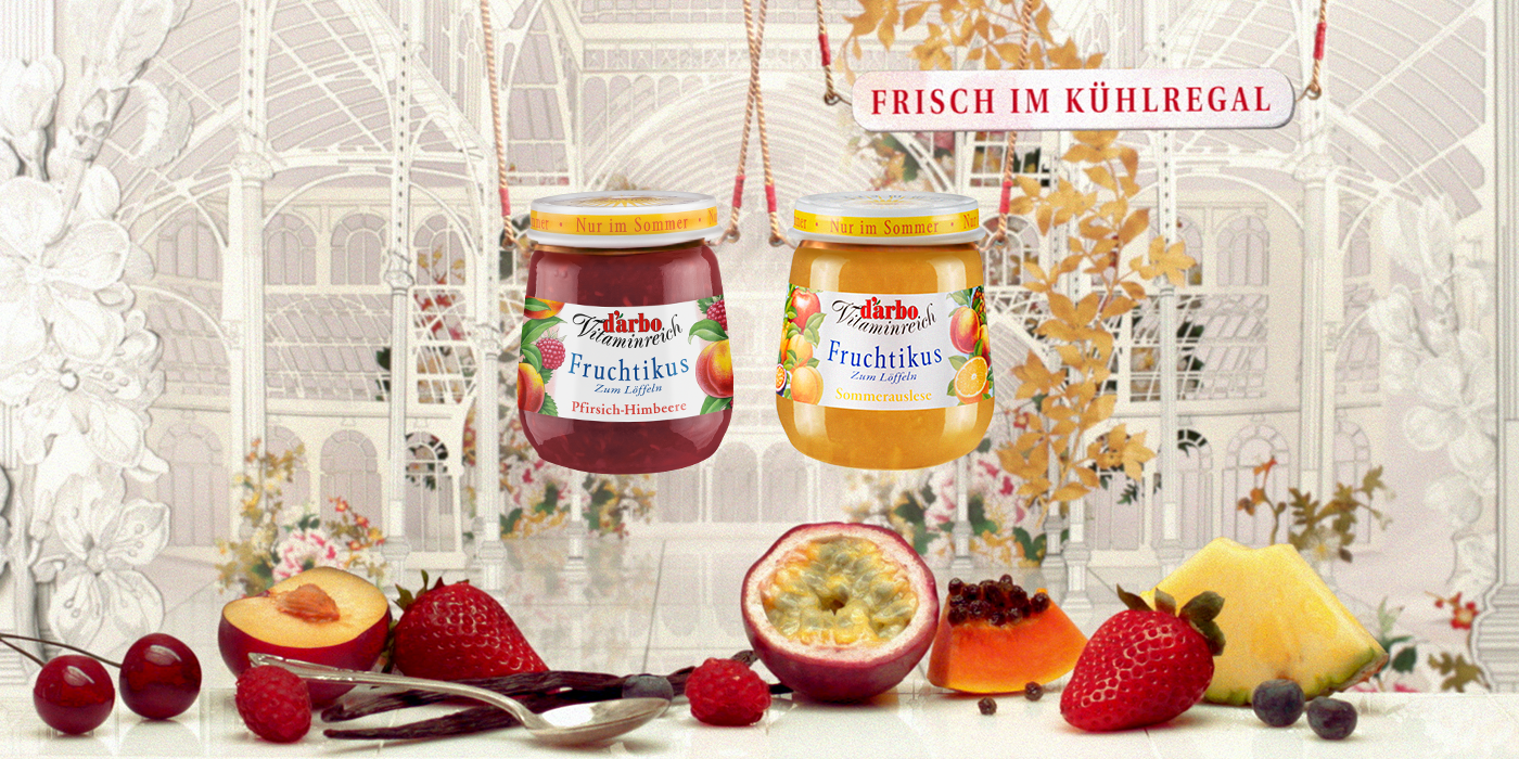 Summer Fruchtikus peach-raspberry & summer selection
